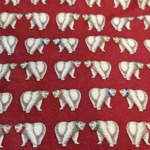 Brooks Brothers Makers Winter Polar Bears Necktie